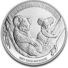 Koala 1kg Silver Coin 2012 F