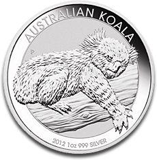 Koala 1oz Silver Coin 2012 F