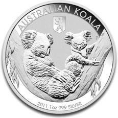 Koala Privy Berlin Bear 1oz Silver Coin F