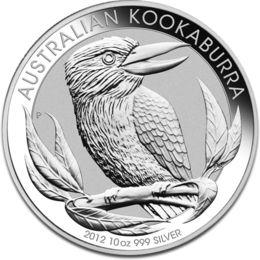 Kookaburra 10oz Silver Coin 2012 F