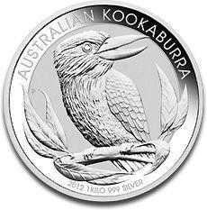 Kookaburra 1kg Silver Coin F