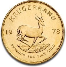Krugerrand 1oz Gold Coin B