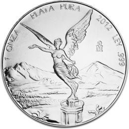 Libertad 1oz Silver Coin 2012 F