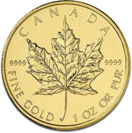 Maple Leaf 1oz Gold Coin F