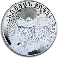 Noah's Ark 2011 1oz Silver Coin F