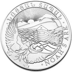 Noah's Ark 2012 1oz Silver Coin F
