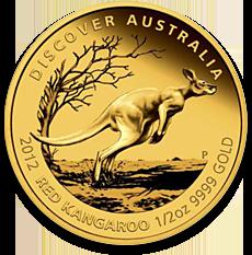 Red Kangaroo Gold Coin