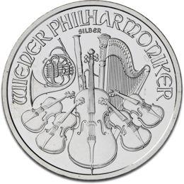 Vienna Philharmonic 1oz Silver Coin F