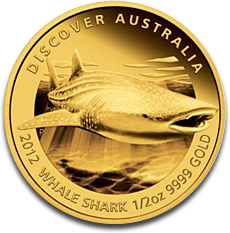 Whale Shark Gold Coin