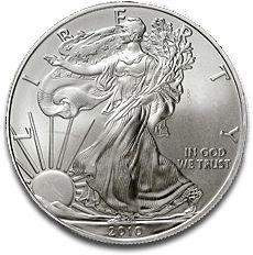 American Eagle 1oz Silver Coin 2010 F